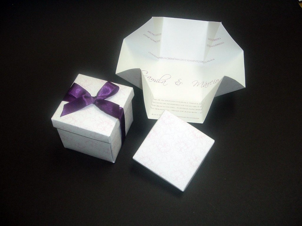 Convite de casamento moderno |imagem 1