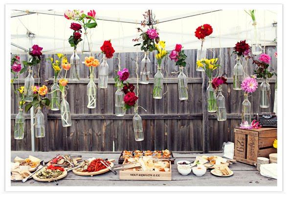 decoracao casamento garrafas de vidro:Decoração de Casamento com garrafas de vidro